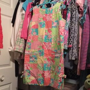 Vintage Lilly Pulitzer Tropical Patch Shift Sz 6